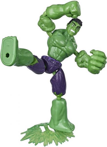 AVENGERS FIGURKA BEND AND FLEX - Hulk