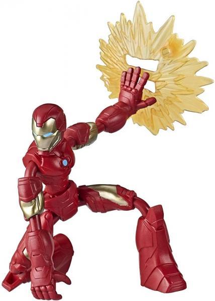 AVENGERS FIGURKA BEND AND FLEX - Iron Man