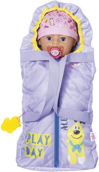 BABY born 2v1 Přenosná postýlka