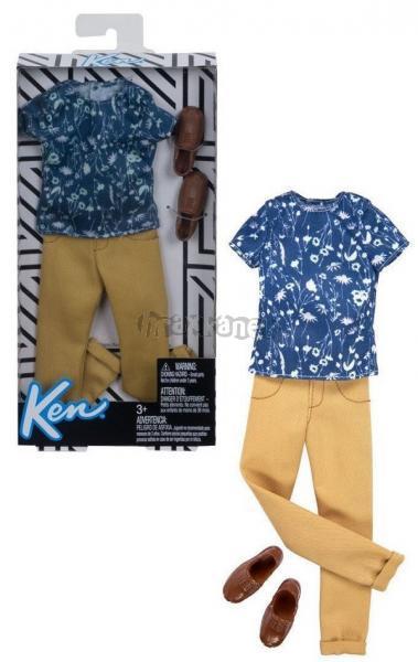 Barbie Kenovy oblečky triko