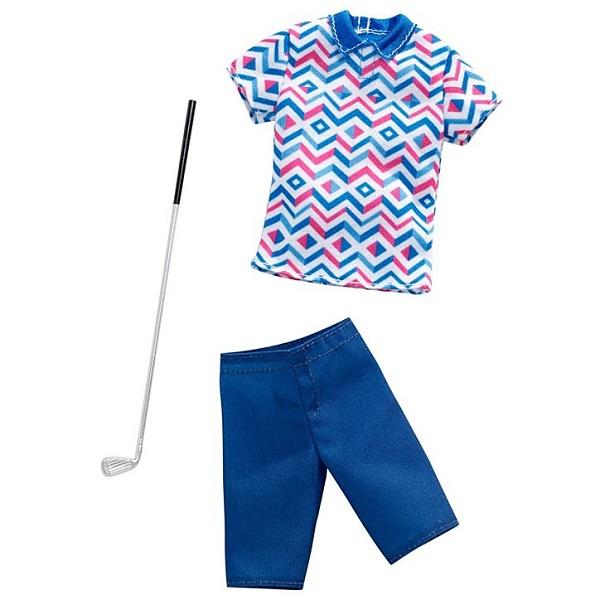 MATTEL Barbie Kenovy profesní oblečky golfista