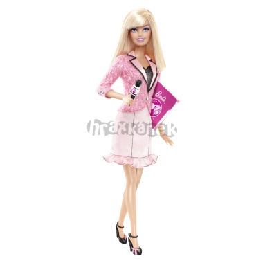 Barbie Moderátorka - panenka z kolekce Mohu být od Mattel