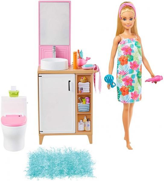 Barbie Pokoj a panenka - toaleta