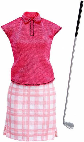 Barbie profesní oblečení golfistka