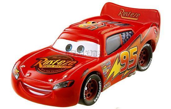 BLESK McQUEEN - Filmová autíčka - CARS - Mattel