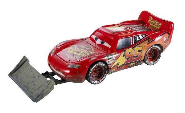 BLESK McQUEEN S LOPATOU - Filmová autíčka - CARS - Mattel
