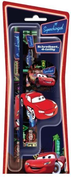 CARS - Malá školní sada 4 ks