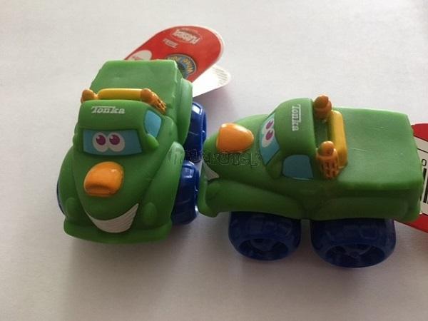 CHUCK mini pogumovaná autíčka Tonka-jeep