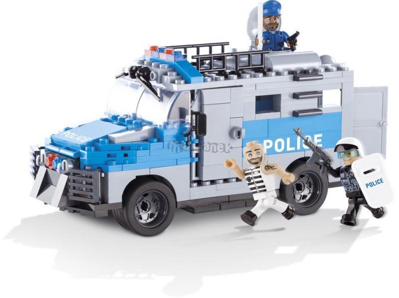 Cobi 1564 ACTION TOWN - Policejní ozbrojené vozidlo