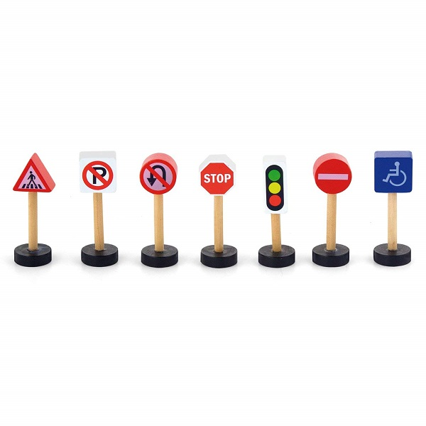 VIGA Dřevěné dopravní značky