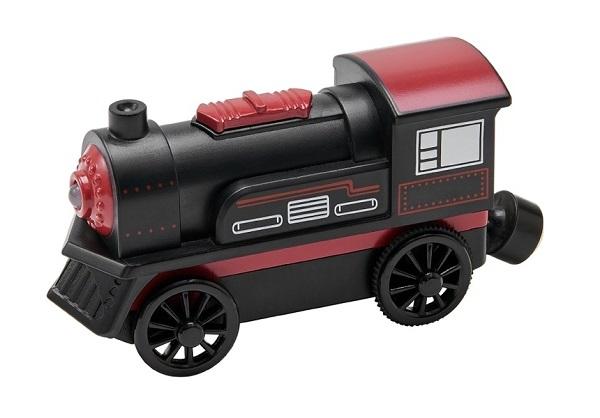 Elektrická lokomotiva - černá - Maxim 50420