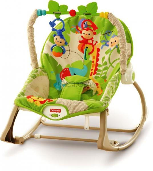 Fisher Price Sedátko Rainforest CBF52