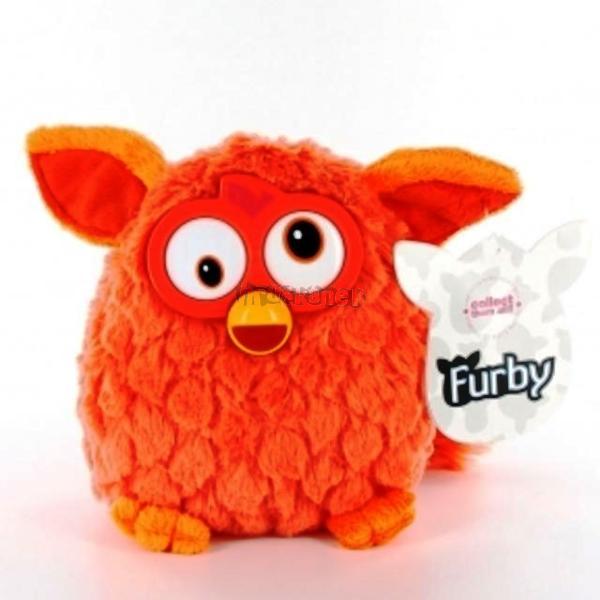 Furby plyšový 14cm - oranžový