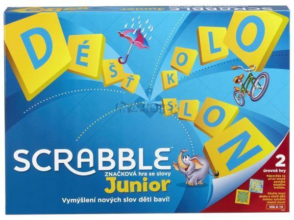 Junior Scrabble česká verze hra MATTEL