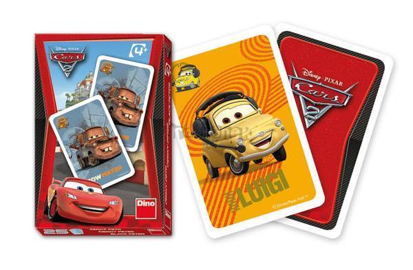 Karty Cars 2 - ČERNÝ PETR DINO