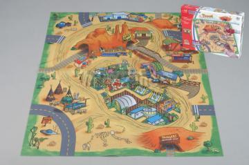 Koberec na hraní s motivem pouště 70 x 80 cm od DICKIE 3315314