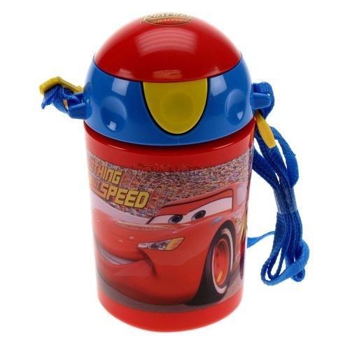Láhev s brčkem 500 ml s motivem CARS od Vogue 1320