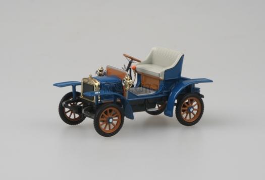 Laurin & Klement Voiturette - Gentlan Blue 1905 - 1:43 - model ABREX