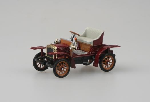 Laurin & Klement Voiturette - Purple Red 1905 - 1:43 - model ABREX
