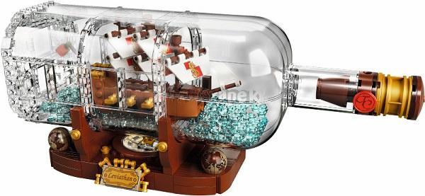 LEGO 21313 Loď v láhvi