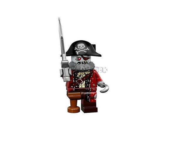 LEGO 71010 Minifigurky Monsters - Zombie Pirate