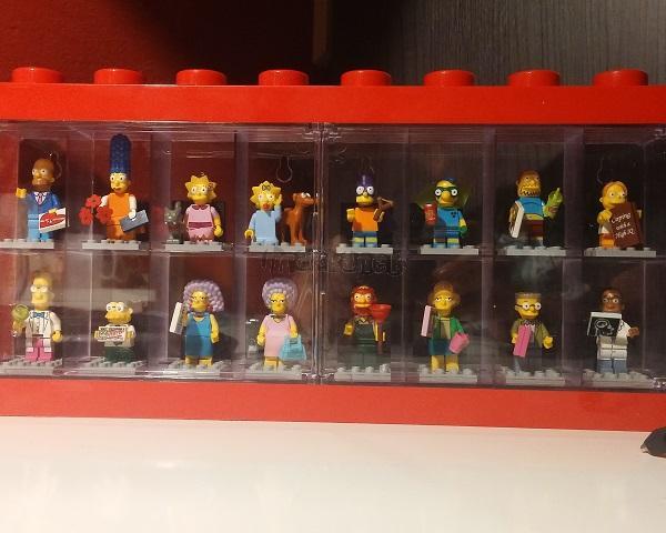 LEGO Sběratelský box s figurkami Simpsons