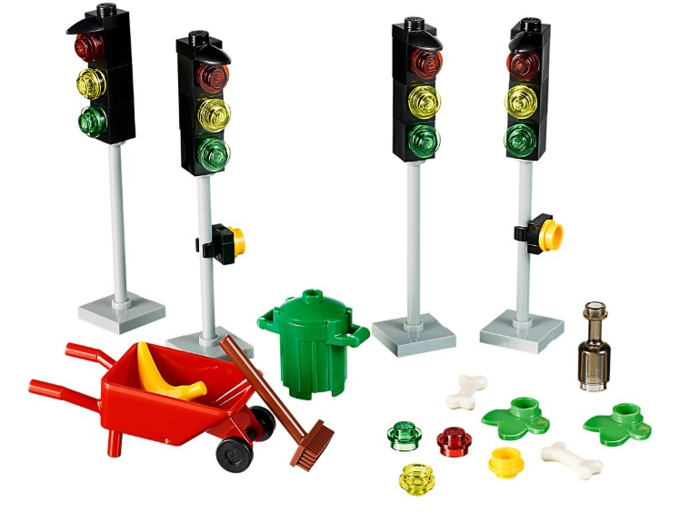 Lego Xtra 40311 Doplňkové dílky Semafory