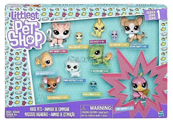 Littlest Pet Shop Velké balení zvířátek 13 ks