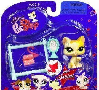 LPS - KOČIČKA se šatníkem - Sběratelská kolekce #832 - Littlest Pet Shop 78937 od Hasbro