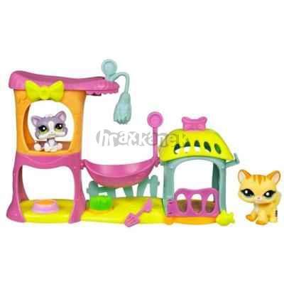 LPS Koťátka - Malá hrací sada - Littlest Pet Shop