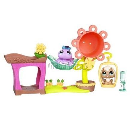 LPS KRÁLÍČEK a PAVOUČEK - Zábava v parku - Malá hrací sada - Littlest Pet Shop