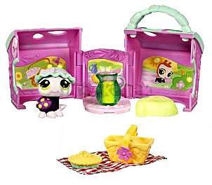 LPS s domečkem - BERUŠKA na pikniku - Littlest Pet Shop - Hasbro