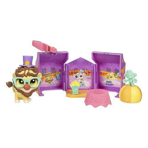 LPS s domečkem - LEV v cirkuse - Littlest Pet Shop - Hasbro