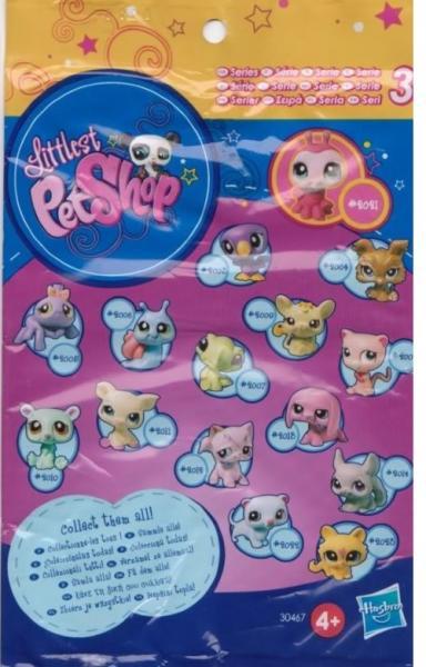 LPS Zvířátko překvapení v sáčku - Littlest Pet Shop 30467 - HASBRO