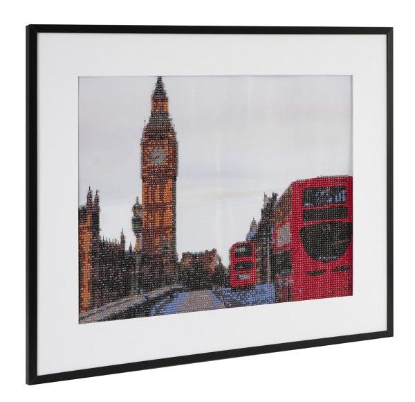 Malování pomocí kamímků Diamond Londýn 40x50 cm