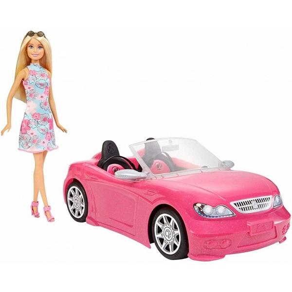 Mattel Barbie elegantní kabriolet DVX59
