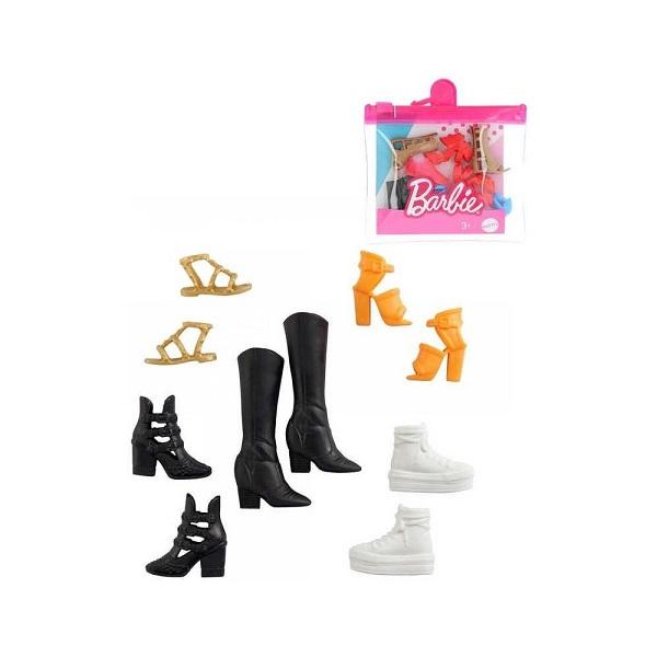 Mattel Barbie kolekce botek černé kozačky