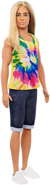 Mattel Barbie Model Ken 138 dlouhé vlasy