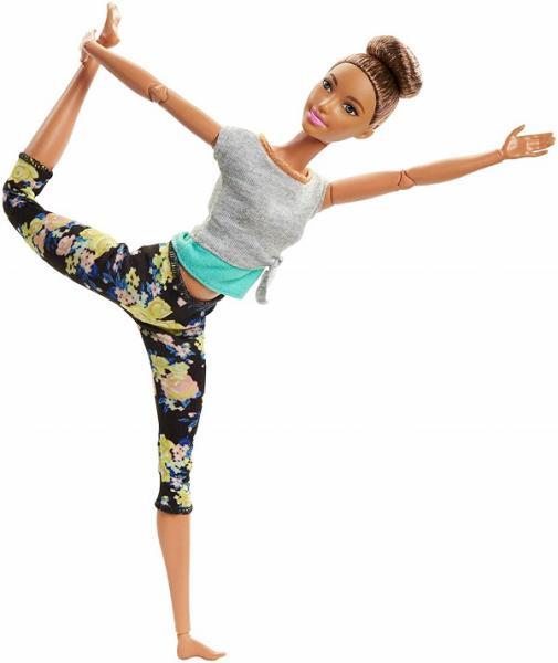 Mattel Barbie v pohybu brunetka
