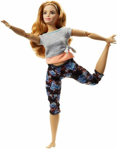 Mattel Barbie V pohybu oranžová