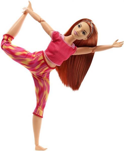 Mattel Barbie V pohybu Zrzka