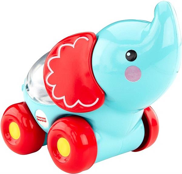Mattel Fisher Price jezdící sloník s kuličkami