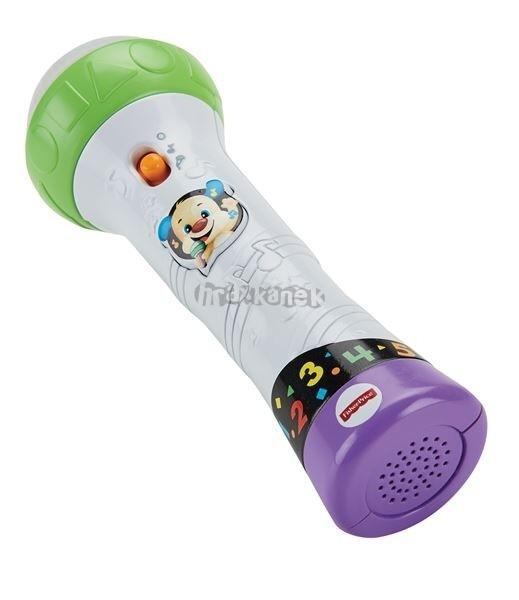 Mattel FP Pejskův mikrofon na baterie Fisher Price