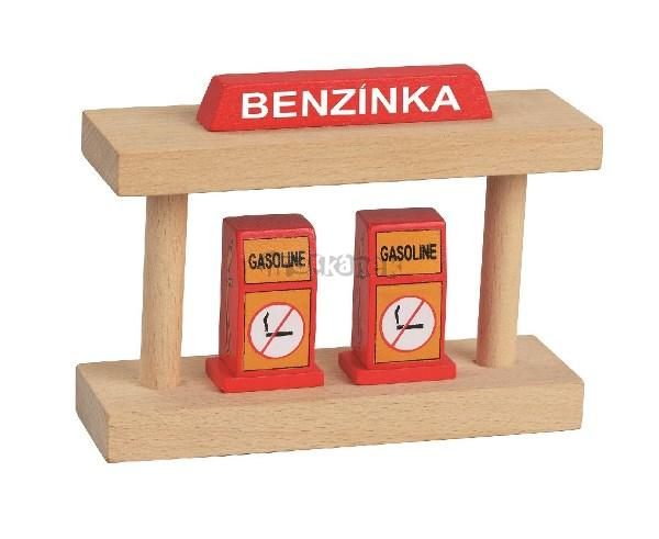 MAXIM Benzínka - dřevěné vláčky
