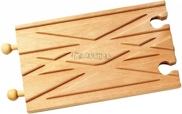 Maxim Křížení tratí dřevěné mašinky