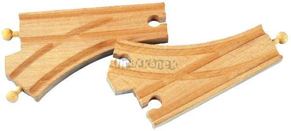 Maxim Standartní dřevěné vyhybky - 2ks