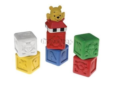 Medvídek Pú - plastové kostky Fisher Price N3692