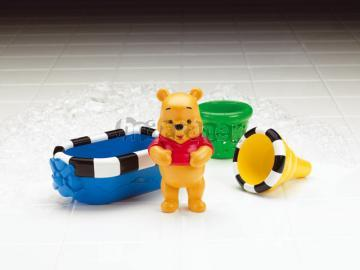Medvídek Pú s lodičkou do vany od Fisher Price N4510