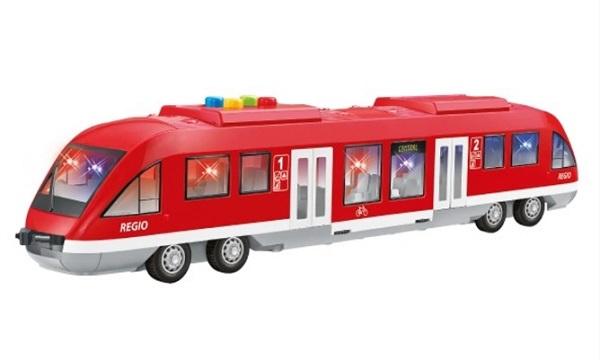 Metro/vlak plast 44cm na baterie se světlem se zvukem