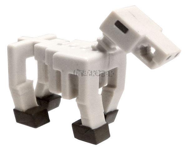 Minecraft Minifigurky 3.série SKELETON HORSE